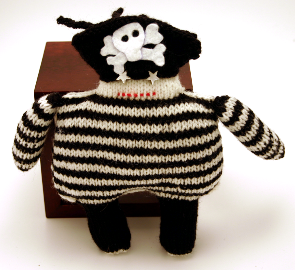 I Knit a Dread Pirate Robot!