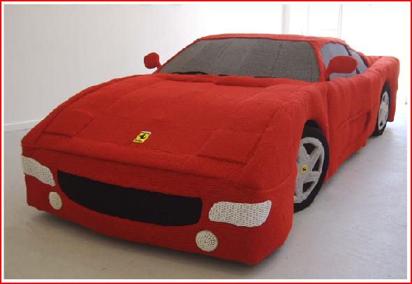 Full size knit Ferrari