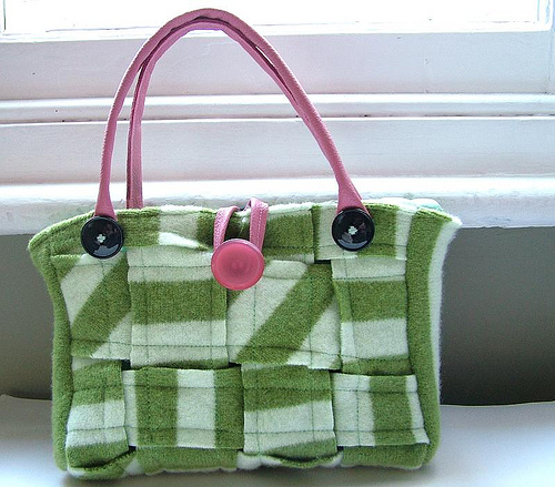 Recycled. Felted. Lambswool. The Coolest Handbag Ever.