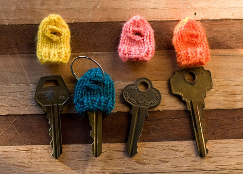 Too Cute Little Knit Key Cozies