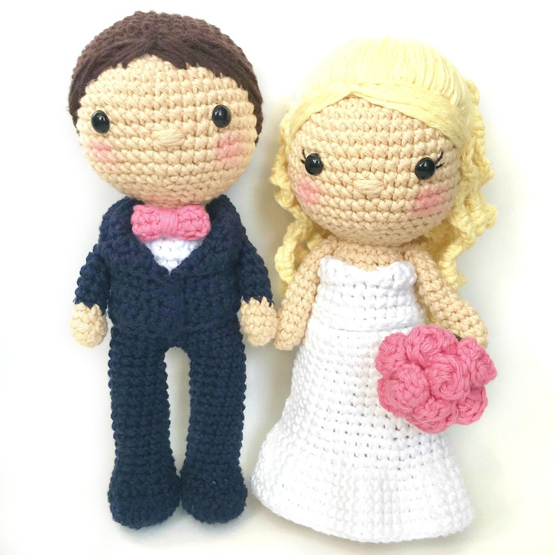 Wedding & Cake Patterns #knit #knittng #crochet #handmade #wedding #weddingDIY