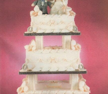 Knit a Vintage Three-Tier Wedding Cake … Pattern Saved!