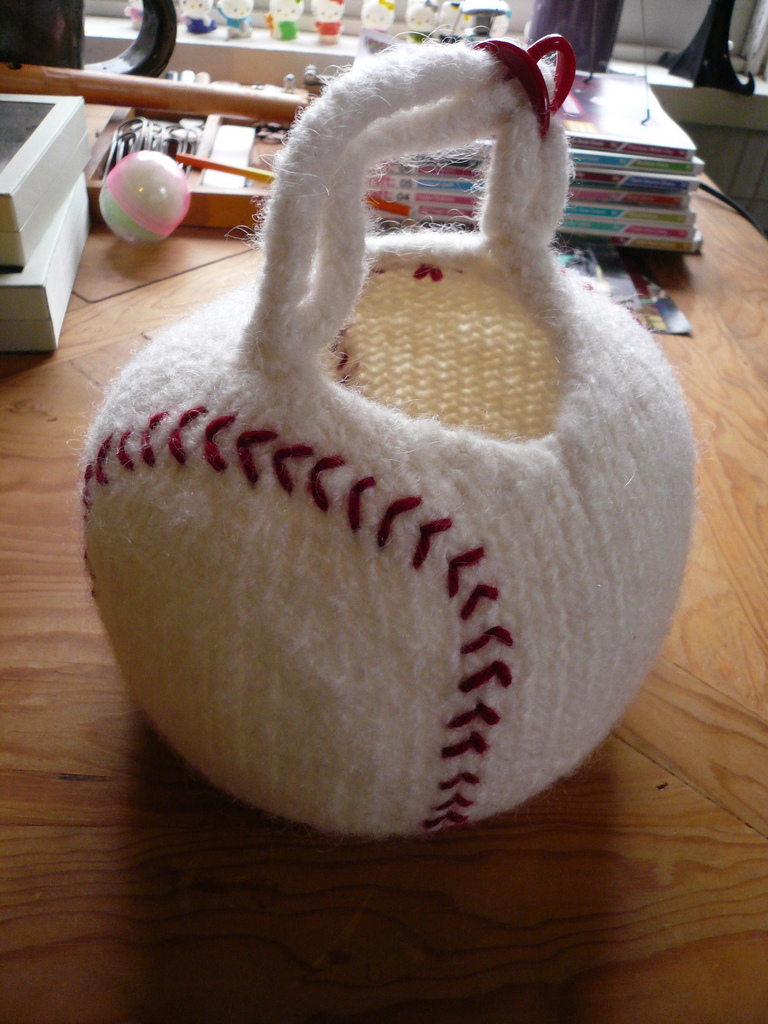 Knitted Baseball Bag