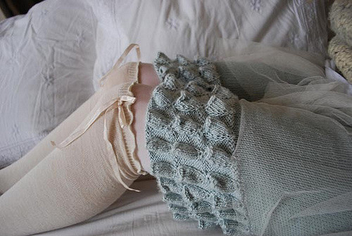 Fab-Fab-Fabulous Knit Bloomers by Tiny Owl Knits
