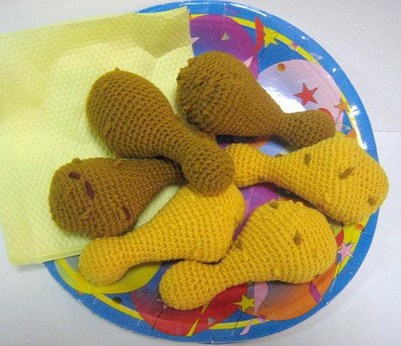 Crochet Chicken Wings & Drumsticks