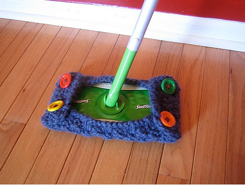 KnitHack For Your Swiffer - FREE Pattern!