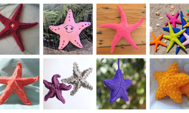 8 Starfish Patterns For Knitters & Crocheters