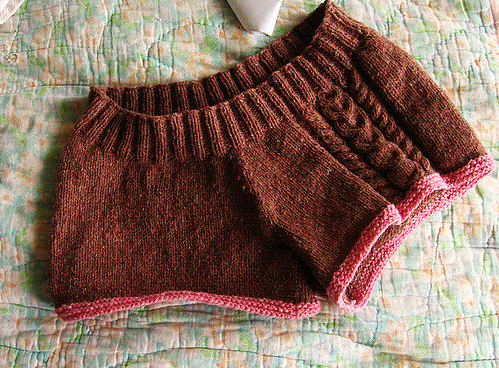 Knit a Pair of Seamless Short Shorts, Designed By Craig Hunter