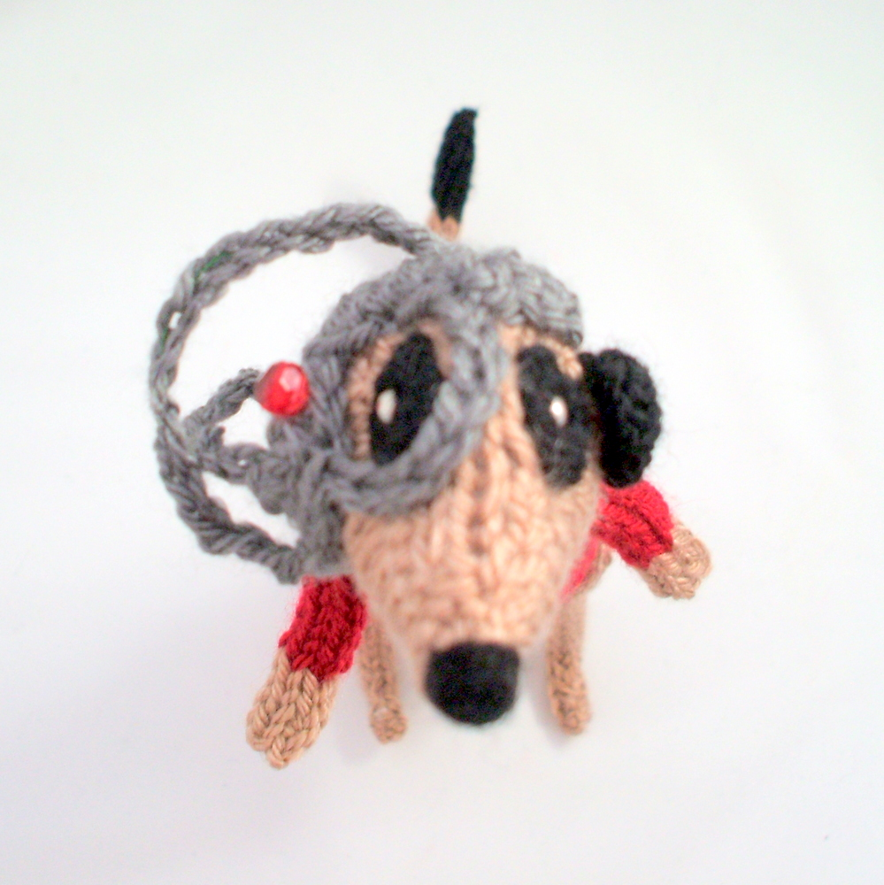 She Knit a Locutus of Borg Meerkat!