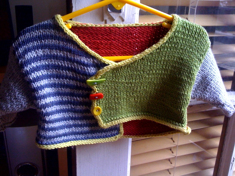 97d97af4ae3 She Knit a Fun Color Block Cardigan – Cute!