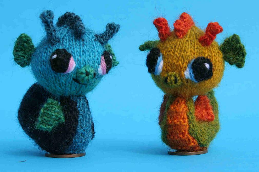 Knit SeaHorse Amigurumi - So Cute!