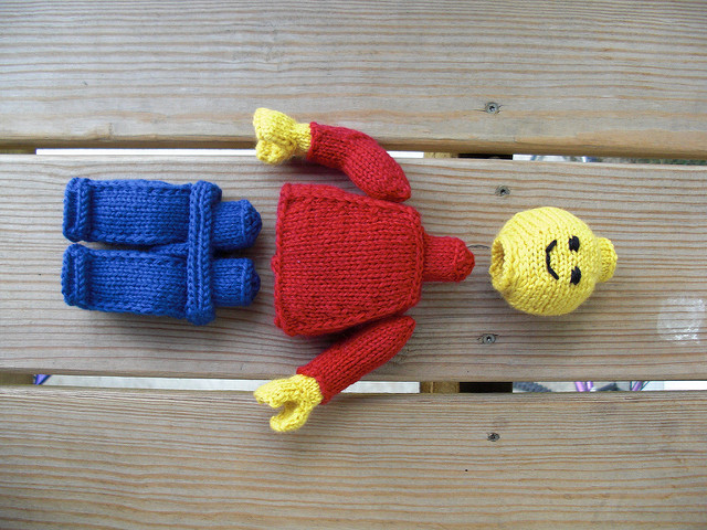 Knit A Lego Minifigure, Some Assembly Required!