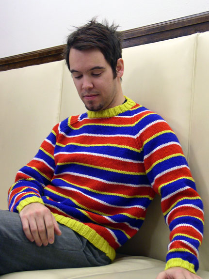 Knit an Ernie Sweater