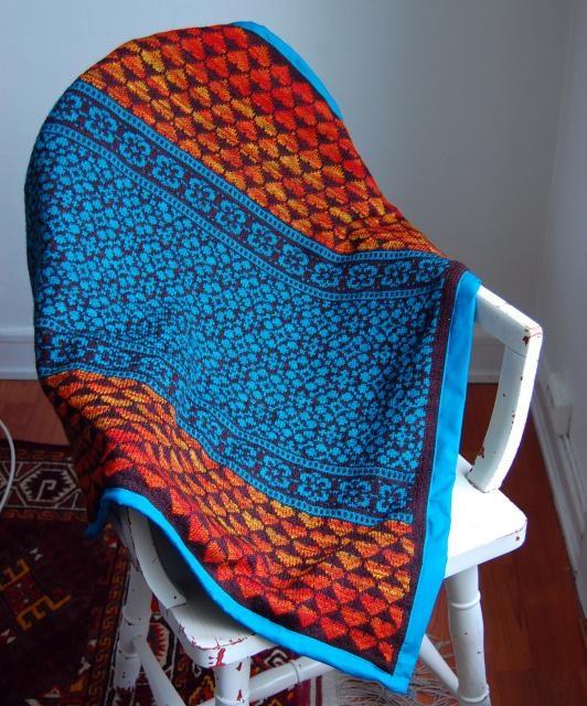 The Latvian Garden Blanket – Gorgeous Design, Free Pattern!