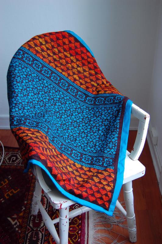 The Latvian Garden Blanket - Gorgeous Design, Free Pattern!