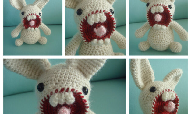 Mr. Bunnyford & Friends Designed By MrFox – Terrifying! Patterns Available!