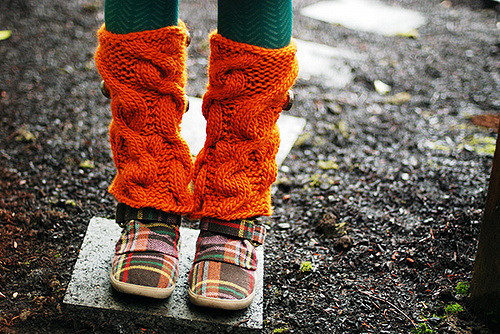 Twisted Ankles, A Unique Take on Legwarmers! Knit Pattern By Lee Meredith