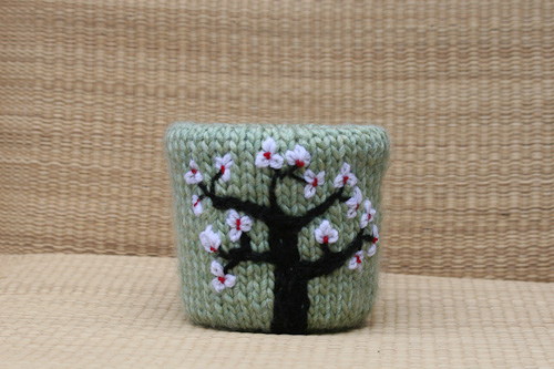 This Cherry Blossom Flower Pot Proves That Recycling Can Be Beautiful!