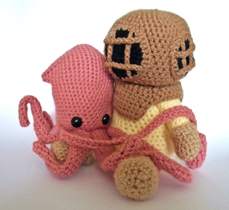 Get the pattern designed by MrFox aka Maffers Walker #crochet #amigurumi