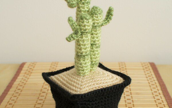 Crochet Bamboo For Good Luck!