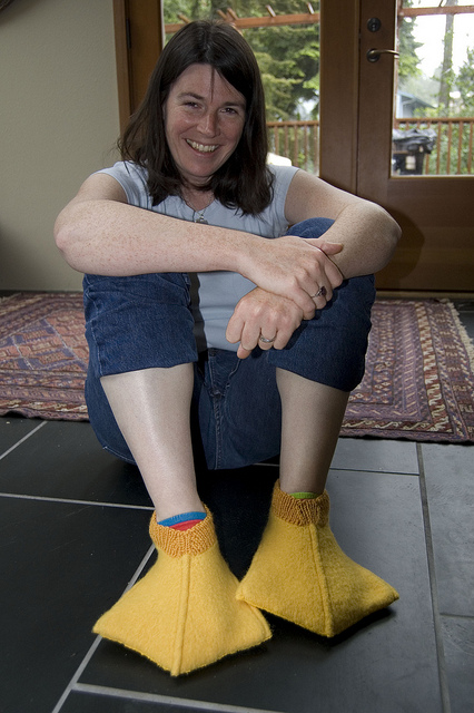 These Are Just Ducky - Knit A Pair Of Duck Feet, So Sweet - FREE Pattern!