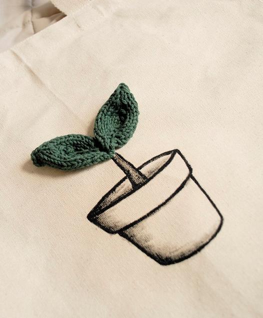 Little Leaves Knit By Nguyen Le