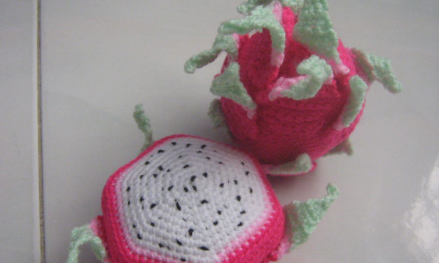 Crochet a Dragon Fruit Amigurumi, Get the Pattern!