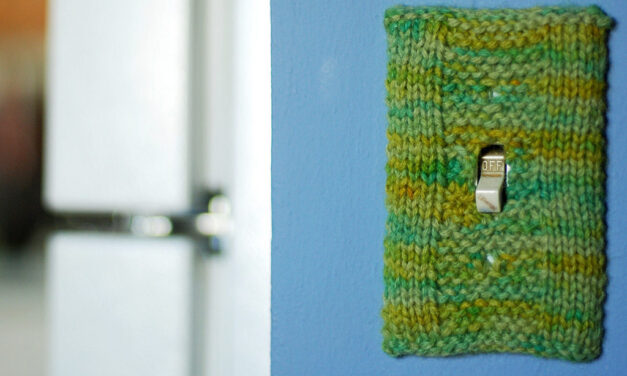 Knit a Light-Switch Cover, Designed By Lee Meredith