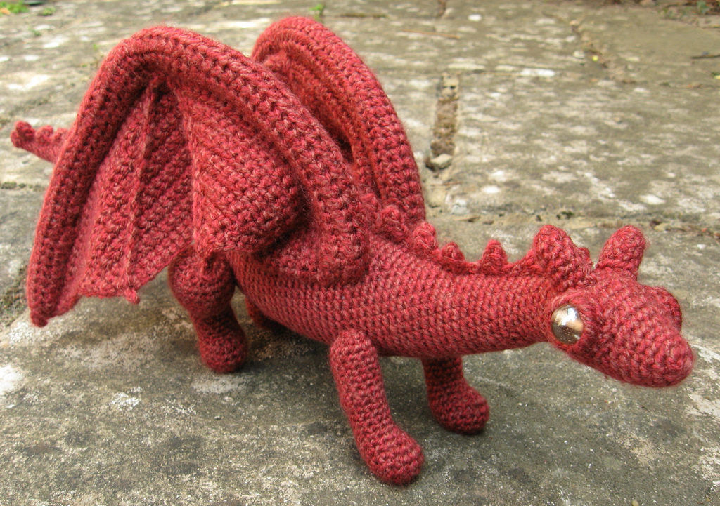 Red Dragonet Crocheted By Lucy Ravenscar - Get The Pattern!