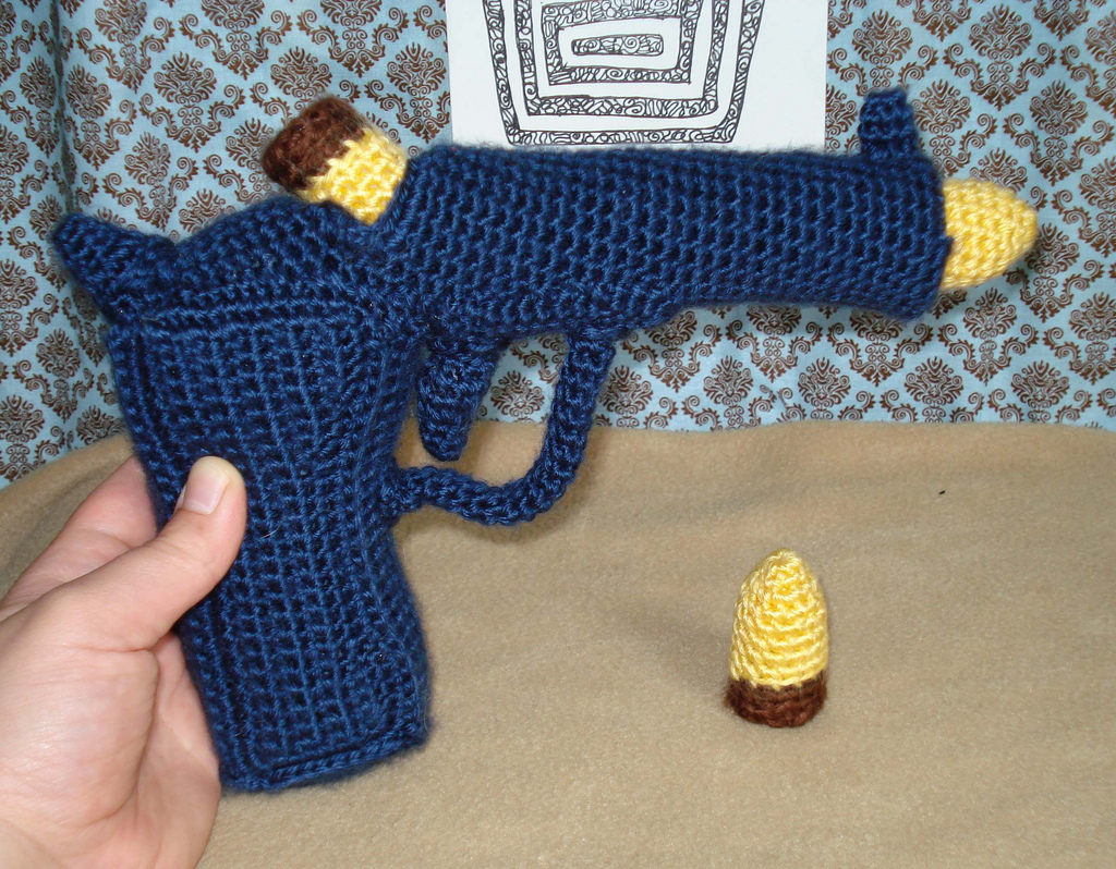 Crochet Fuz Pistol For Plush Team Call Of Duty Weapons Challenge