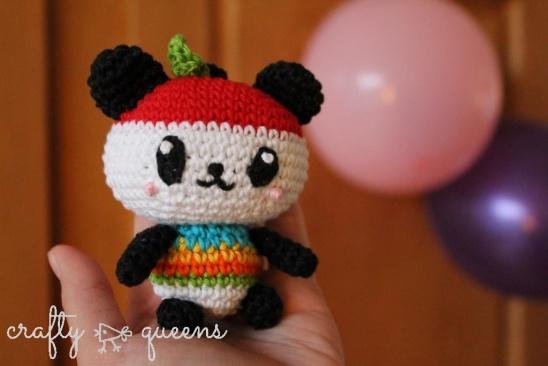 Mei Li Lee's Pandapple Amigurumi From Hello Kitty Crochet