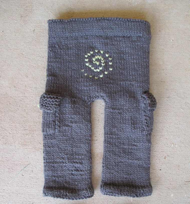 Knitted Baby Cargo Pants - Aren't These Adorable?
