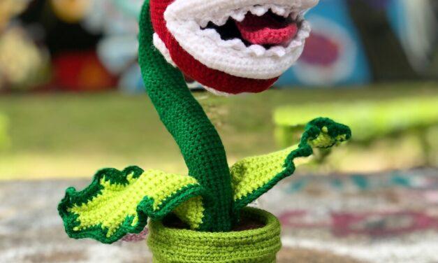 Crochet a Super Mario Piranha Plant