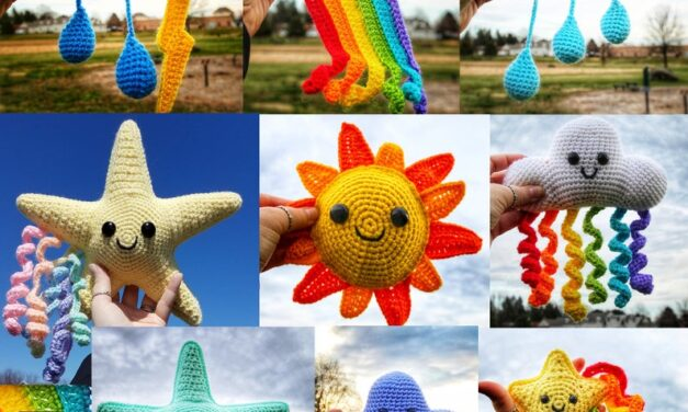 She Crocheted Weather Amigurumi And You Can Too!