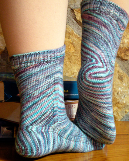Hey Knitters, Is This The Perfect Socks Shot? And The Pattern is FREE, Thanks Knitty!