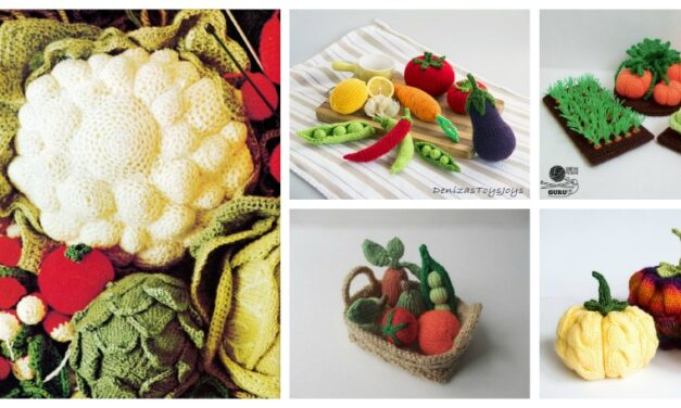 Knit Your Veggies! Lots of Patterns!