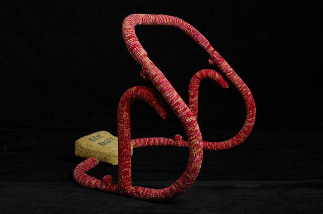 Yarn Bombed Ab Cruncher