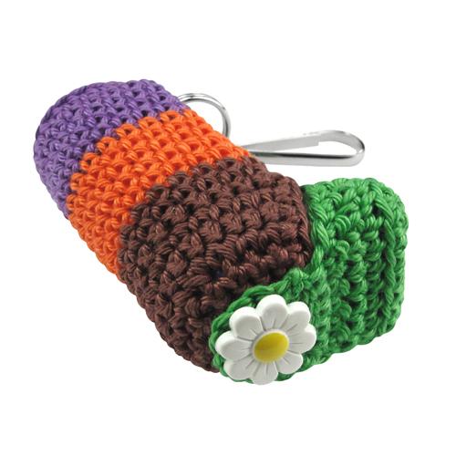 crochet inhaler cosy