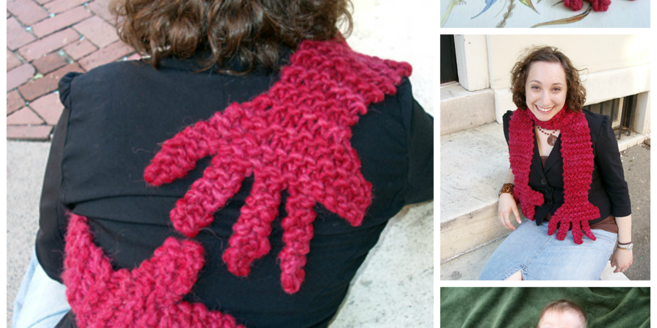 Knit a Scarf That Hugs Back – Free Pattern!