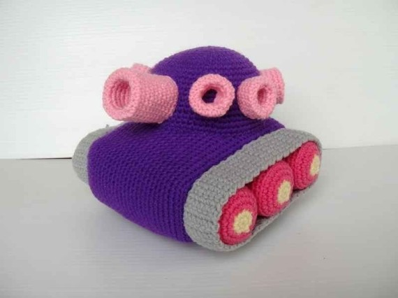 Amazing Battle Tanks - Crochet Pattern Available, Great Gift For Kids!