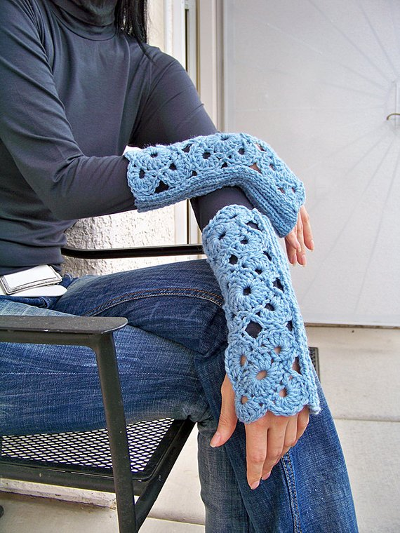 Fingerless Gloves Pattern, get the pattern from Natalya1905