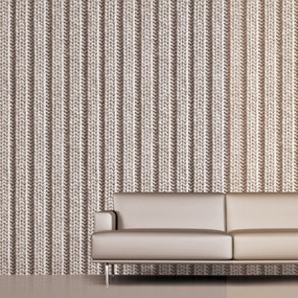 This 'Knitted' Wallpaper Looks Fabulous!