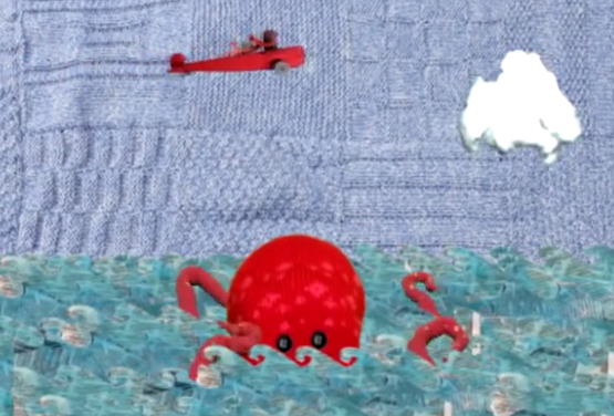 The Little Red Plane – A Short Stop-Motion Adventure Made of Yarn