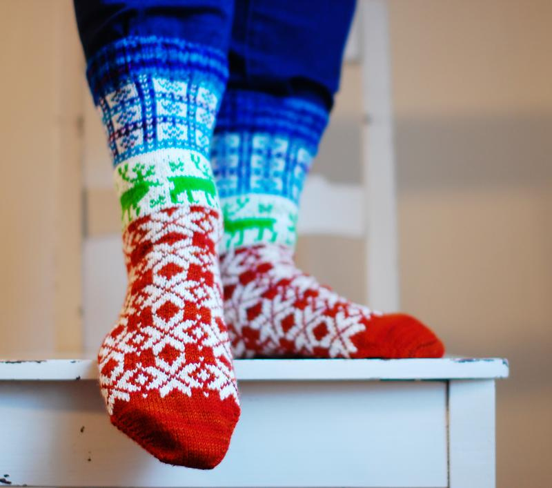 Inspiring Socktoberfest Socks!