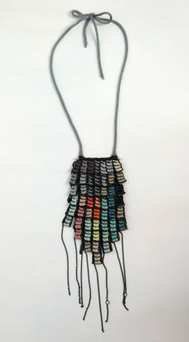 Elinor Voytal Knits Amazing Jewelry