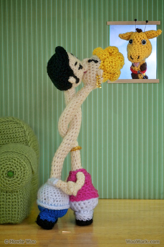 This Crochet Amigurumi Gives New Meaning To The Term 'Necking' ...