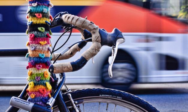 Fantastic Photograph of a San Francisco Yarn Bomb