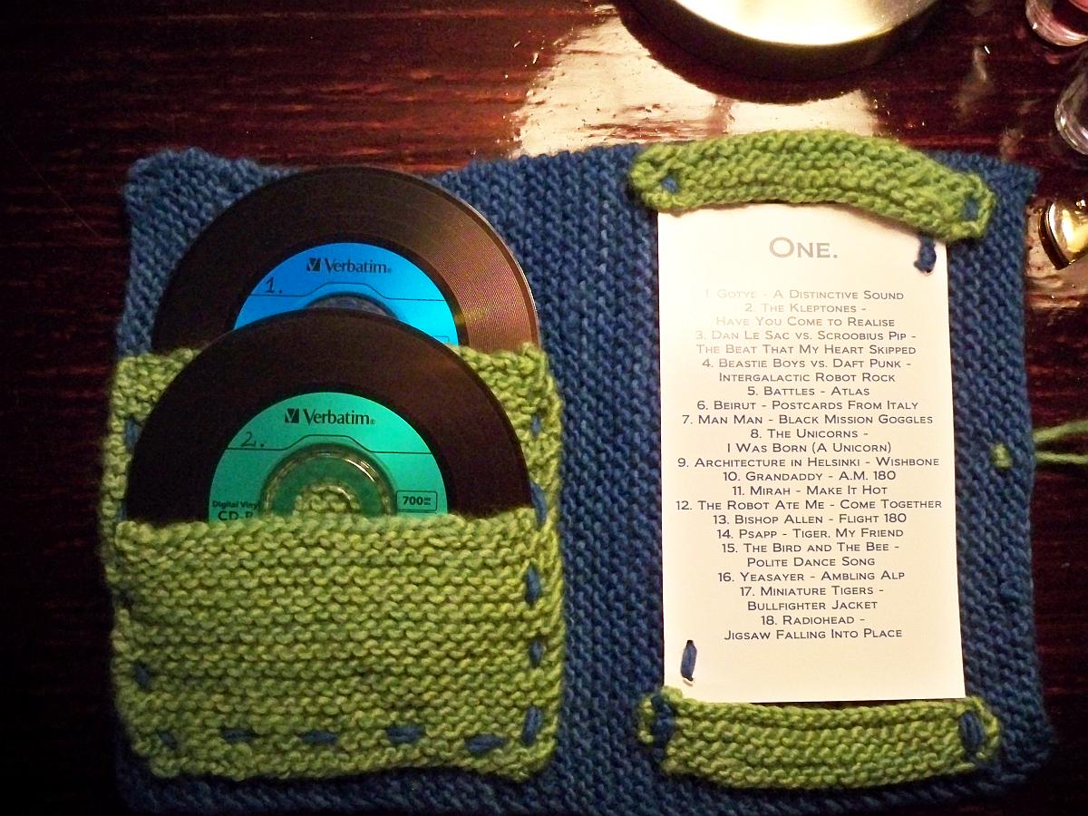 First He Made Her Mixed CDs, Then He Knitted the Case to Hold It All - He's Got It Bad ...