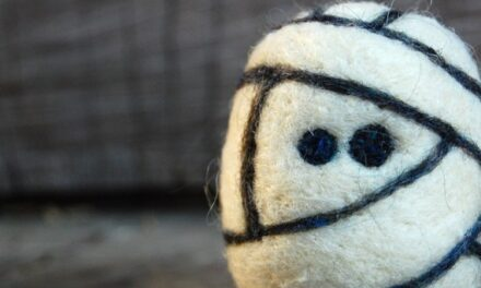 Fun Felted Mummy Egg Monster and More! By AsherJasper