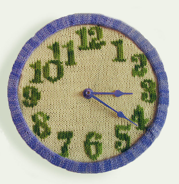 Time To Knit … Knit a Clock That Is! Get the Pattern, FREE!